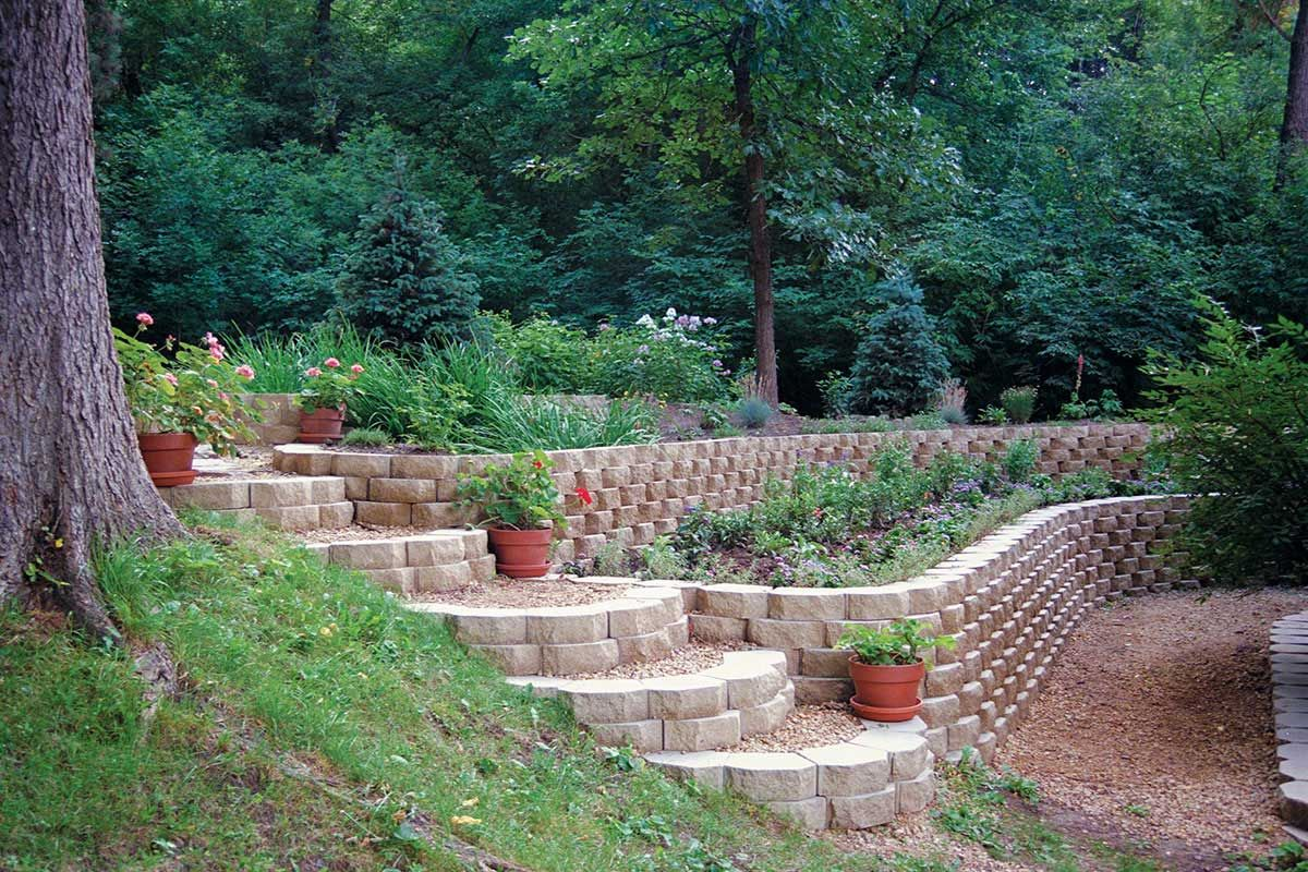 Keystone Garden Wall 174 Keystone Retaining Wall Systems